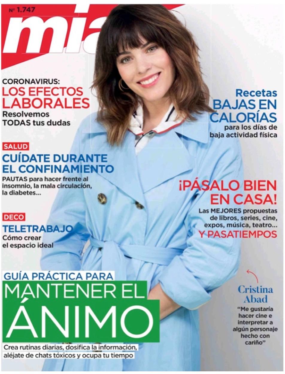 Dray Cosmetics en revista Mia